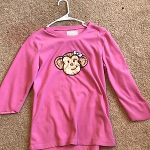 Other - Monkey shirt for girls